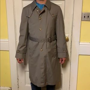 Never Worn Christian Dior Water Res. Belted Trench